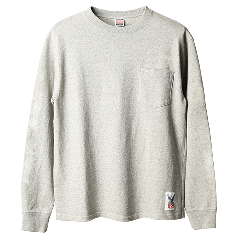 Standard California Made in USA Heavyweight Pocket Long Sleeve T delivery!!_f0020773_18585560.jpg