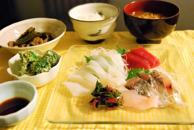【9月5日】お刺身定食と美活-day 2_e0135683_08432985.jpg