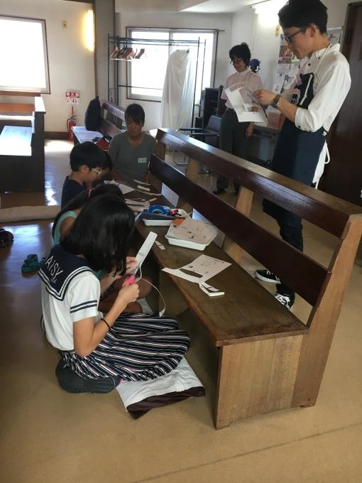 2018/08/22 パックンわに・紙飛行機工作教室@日本福音ルーテル聖パウロ教会_f0240709_23074813.jpg