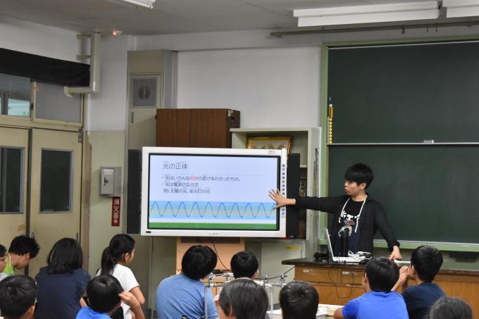 2018/08/23 偏光万華鏡工作教室@東調布第一小学校_f0240709_23115450.jpg