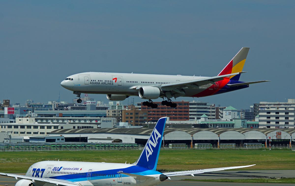 ASIANA AIRLINES。_b0044115_09395733.jpg