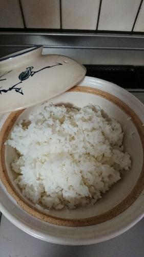 ヤブランの花。土鍋でご飯を炊きました。_d0390236_08014889.jpg