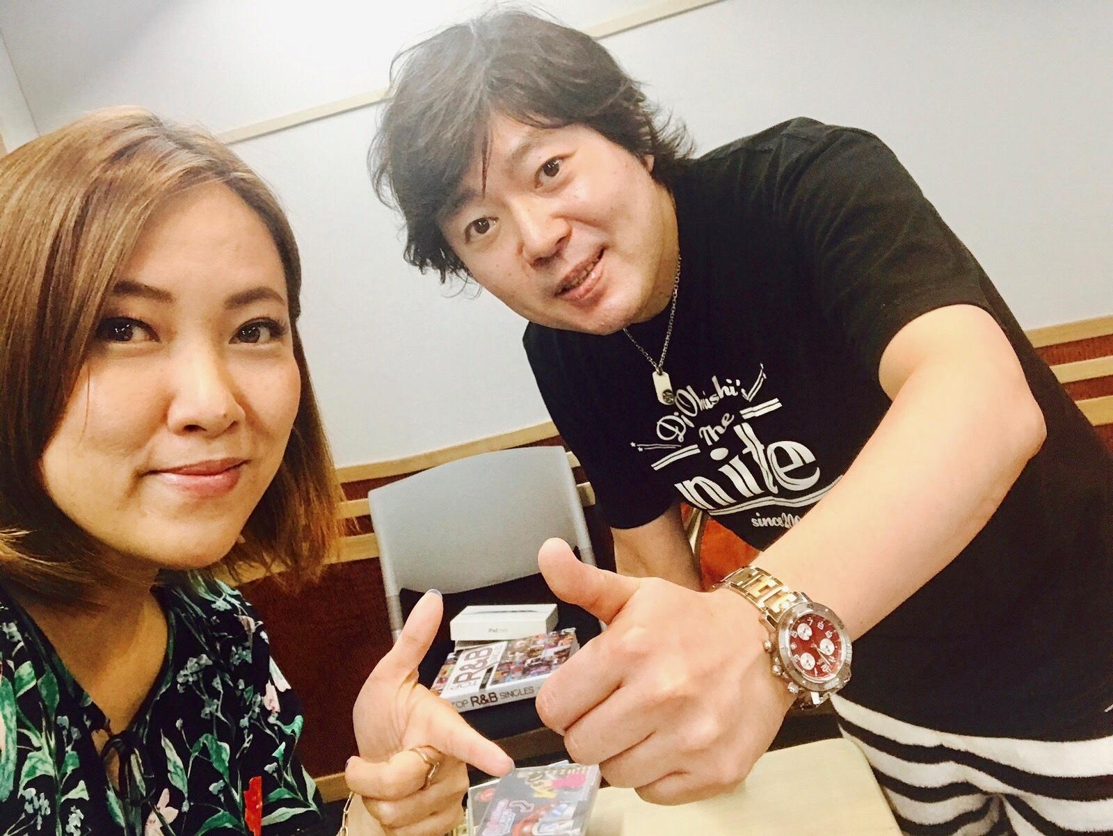 Music Bird DJ大西貴文さんの「THE NITE」ゲスト_a0150139_15391774.jpg