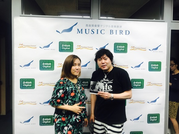 Music Bird DJ大西貴文さんの「THE NITE」ゲスト_a0150139_15423277.jpg