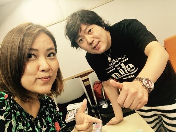 Music Bird DJ大西貴文さんの「THE NITE」ゲスト_a0150139_15512144.jpg
