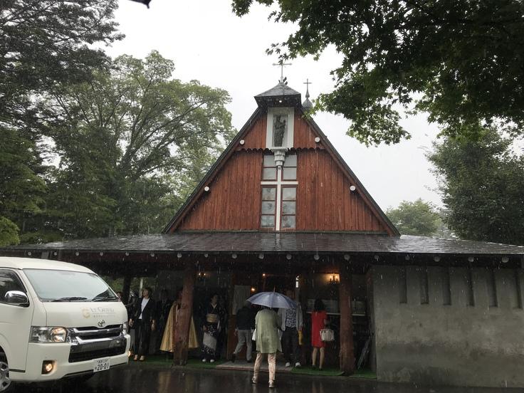 軽井沢でお洒落モーニング しかし大雨に!_c0212604_1243471.jpg