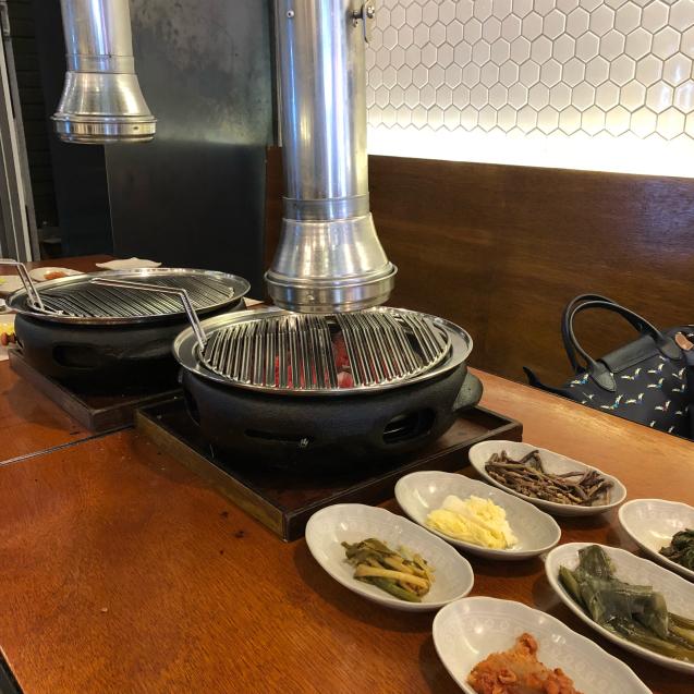 18年8月末ソウル7☆サムギョプサルもモクサルも美味しい@高飯食堂_d0285416_06444858.jpg