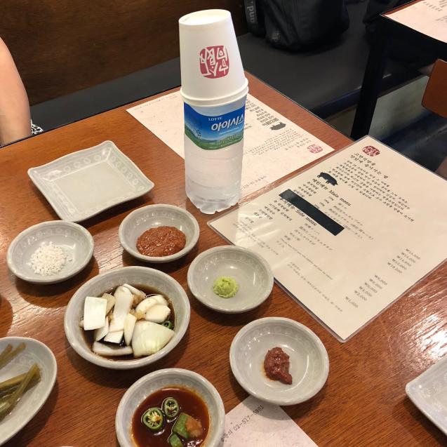18年8月末ソウル7☆サムギョプサルもモクサルも美味しい@高飯食堂_d0285416_06445799.jpg