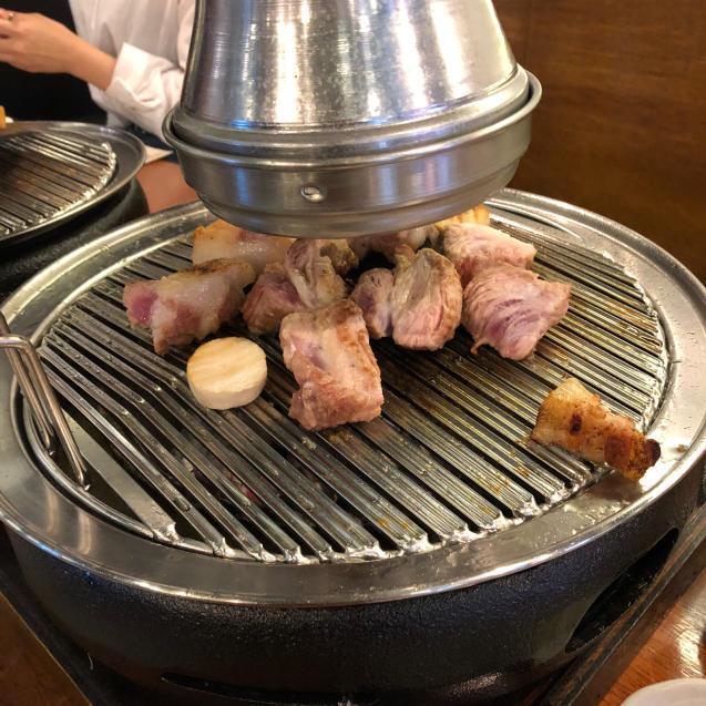 18年8月末ソウル7☆サムギョプサルもモクサルも美味しい@高飯食堂_d0285416_06513597.jpg