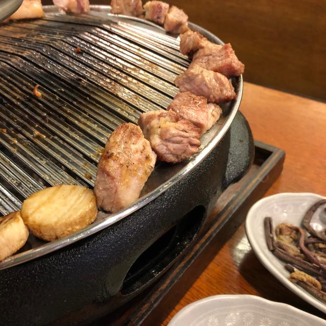 18年8月末ソウル7☆サムギョプサルもモクサルも美味しい@高飯食堂_d0285416_06520072.jpg