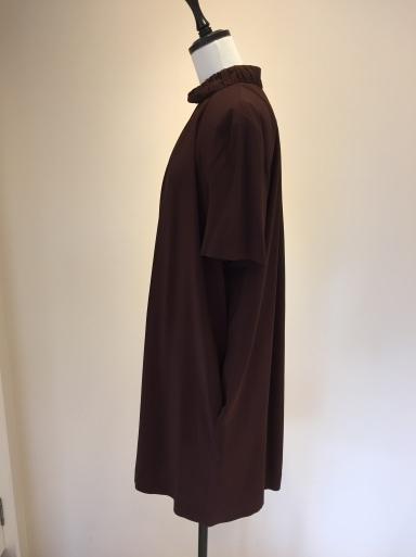 スカーフ柄のワンピース_c0223630_16533581.jpg