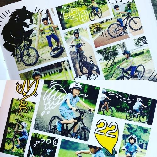 キッズカタログ製作「LIPIT DESIGN」X「MARIN」2019年マリンカタログ制作 おしゃれ自転車 リピトデザイン 自転車グッズ 自転車女子 自転車ガール_b0212032_18261754.jpeg