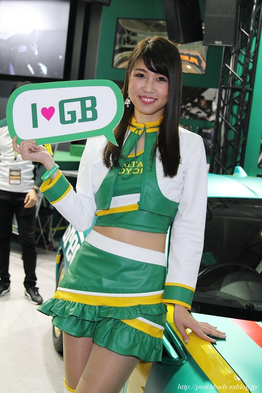 滝川メグ さん(埼玉トヨペット Green Brave ブース)_c0215885_18204138.jpg