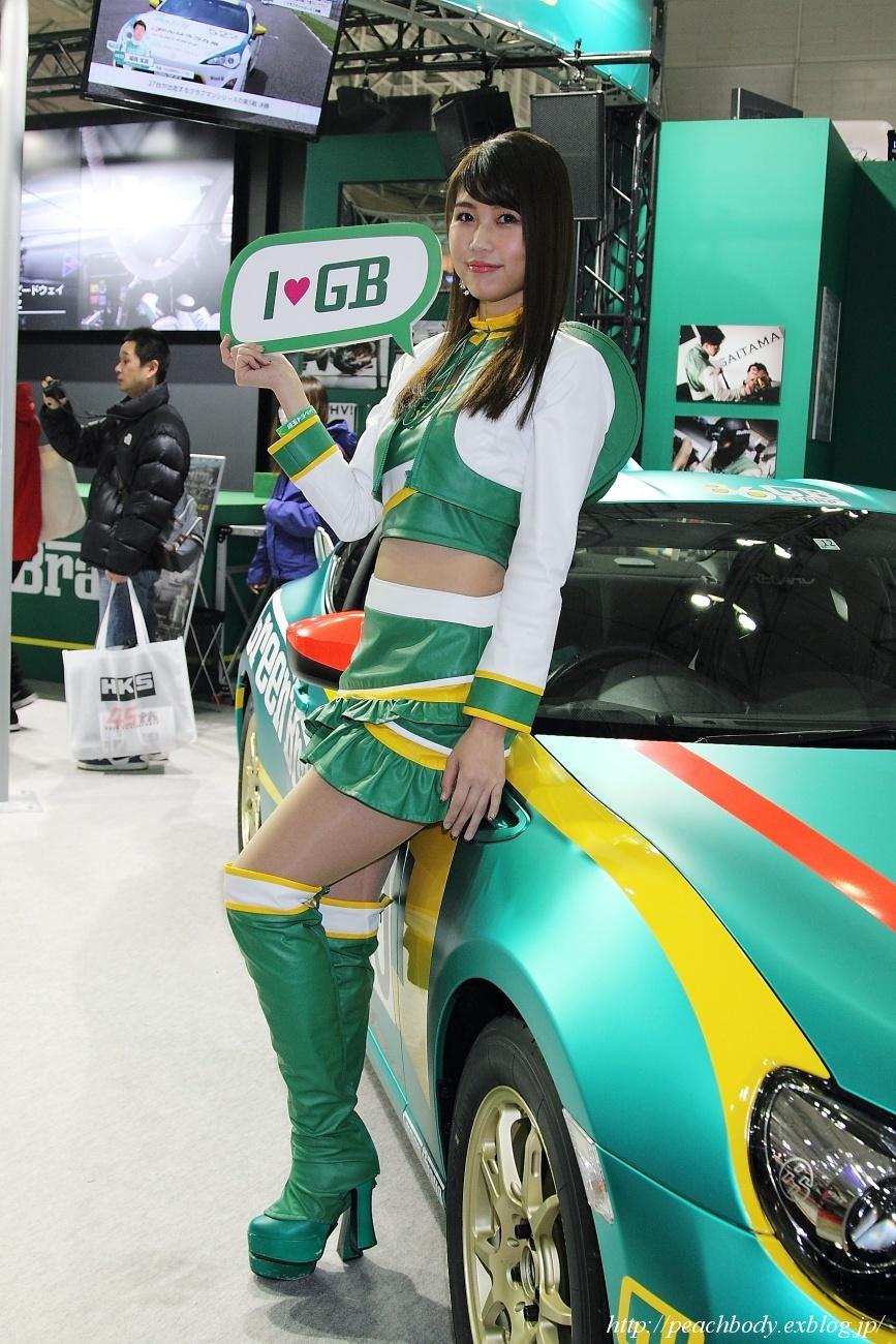 滝川メグ さん(埼玉トヨペット Green Brave ブース)_c0215885_18210509.jpg
