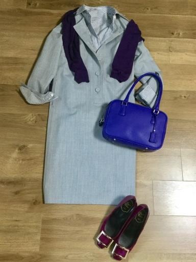 ウールワンピース「Gray 」をどう着る?①_b0210699_00452174.jpeg