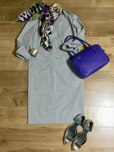 ウールワンピース「Gray 」をどう着る?①_b0210699_00455481.jpeg