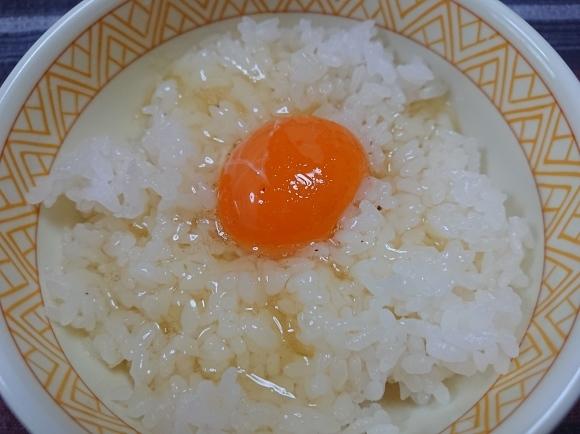 9/8夜勤明けVol.2 贅沢な卵かけトリュフしょうゆ で 卵かけごはん_b0042308_16510924.jpg