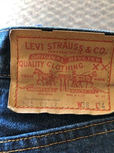アメリカ仕入れ情報# 13  60s~Levi's 505 Big E_c0144020_08024489.jpg