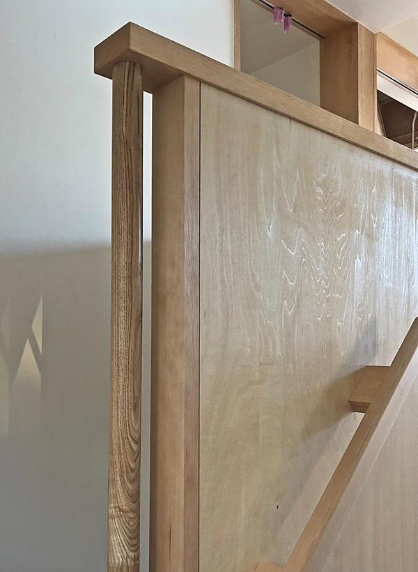 『飯山満の家Ⅱ』完成間際_c0019551_16182715.jpg