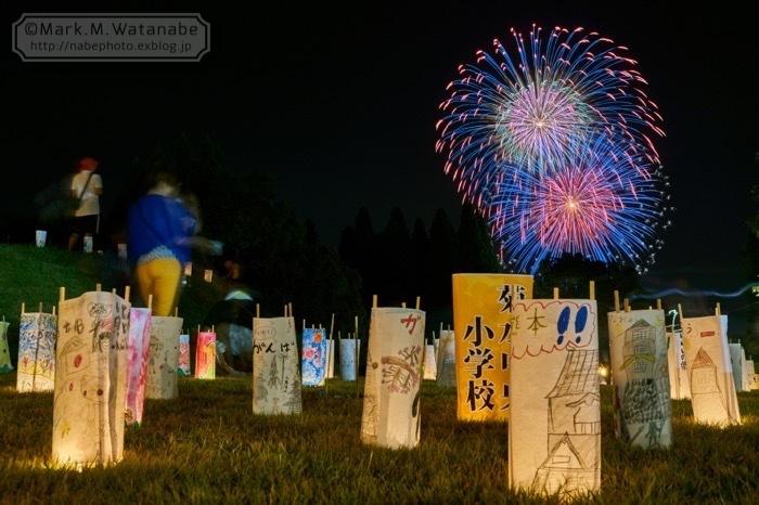 第48回和水町古墳祭の花火_e0135098_01352631.jpg