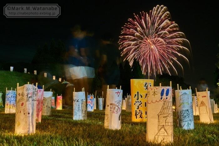 第48回和水町古墳祭の花火_e0135098_01353818.jpg