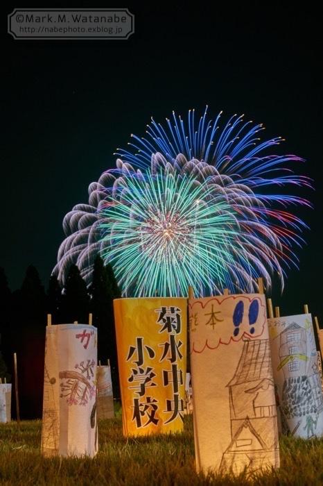 第48回和水町古墳祭の花火_e0135098_01355118.jpg