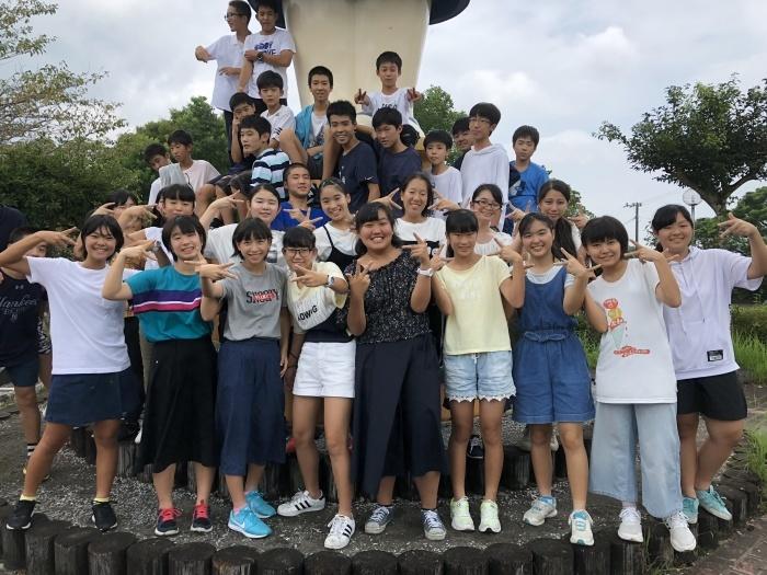 中3夏合宿 最終日 かかし館での最後の時間_d0116009_20095921.jpg