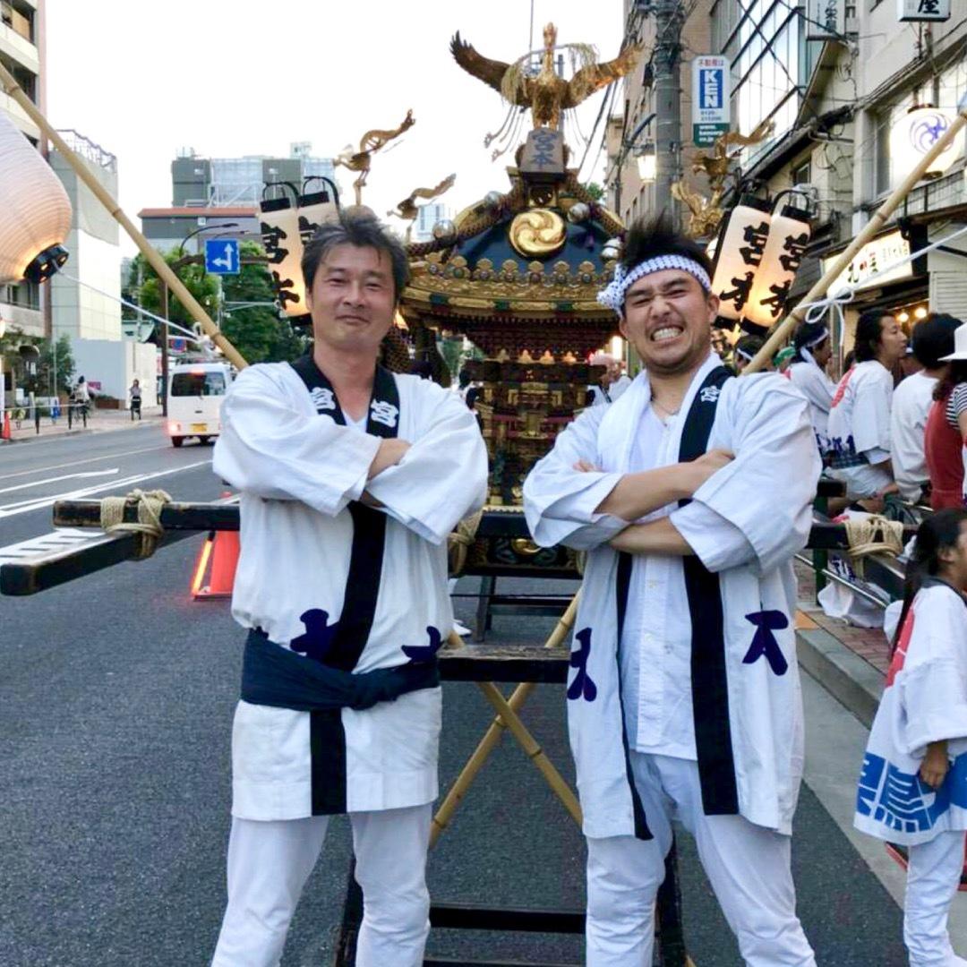 目黒大鳥神社のお祭り2018_f0234628_15005570.jpg