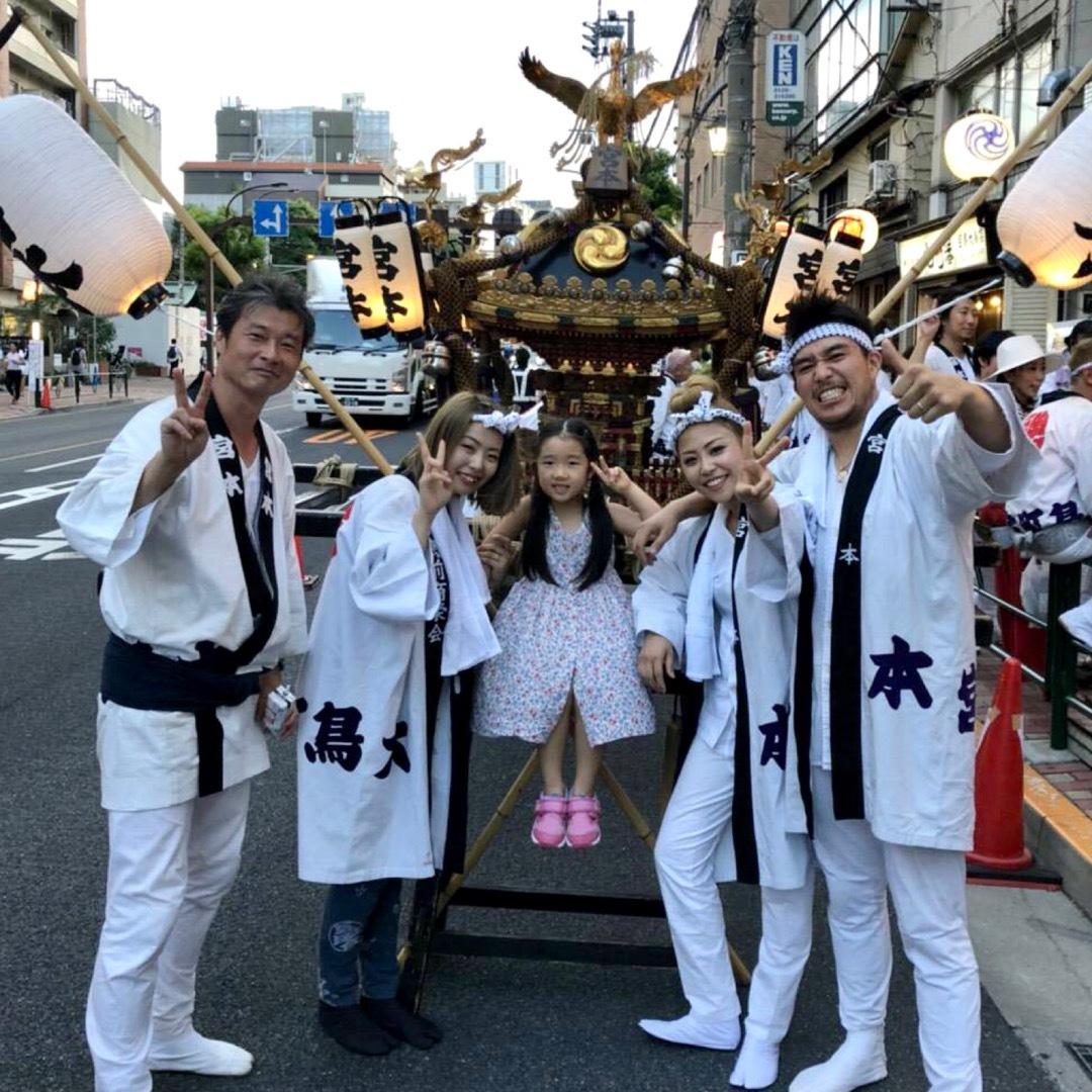 目黒大鳥神社のお祭り2018_f0234628_15010631.jpg