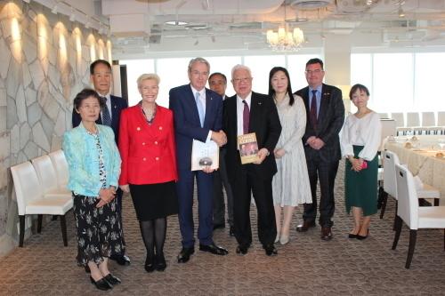 オーストラリア大使ご夫妻 熊本へ 2018.5.8熊本日豪協会_c0085539_07375885.jpg