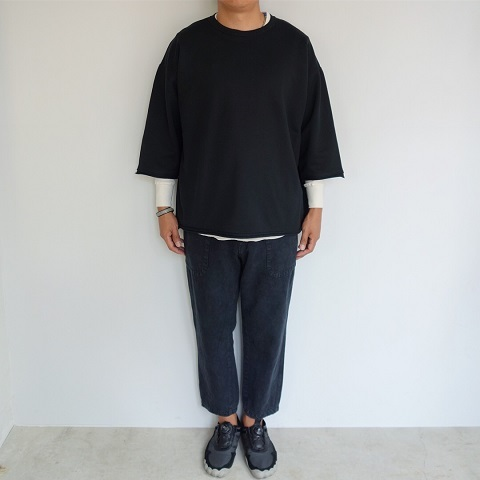 blurhms : High density Sweat Cut-off P/O_a0234452_18413422.jpg