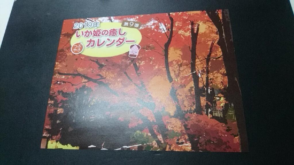 いか姫カレンダー2019、制作してました。_b0106766_11064089.jpg