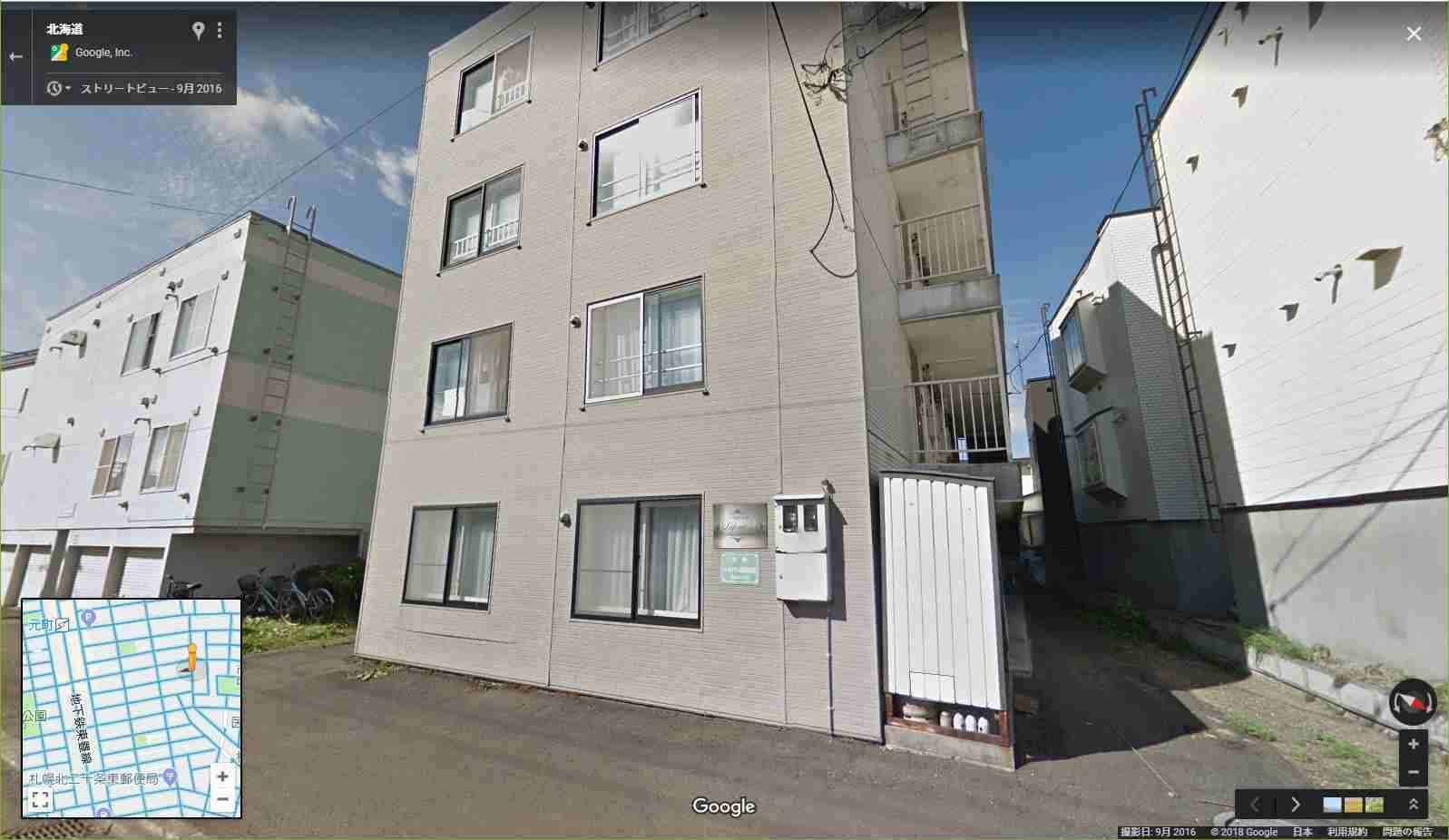 意外と近いところに半壊のアパートが_c0025115_22131176.jpg