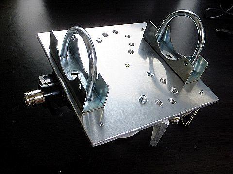 モービルアンテナ流用 V型ダイポール基台 作った_e0146484_18081707.jpg