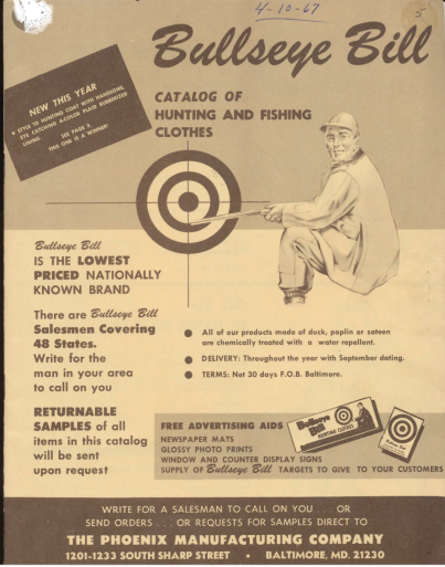アメリカ仕入れ情報#22  60s デッドストック Bullseye Bill Hunting Jacket!_c0144020_10223225.jpg