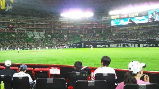 福岡ヤフオクドームで野球観戦_e0184224_10322509.jpg