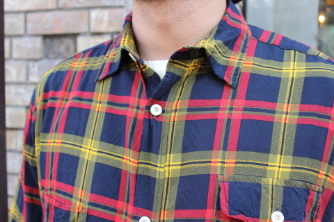 "「dip」\""珍しい素材にチェック柄のシャツアイテム\"" ご紹介_f0191324_08535288.jpg"