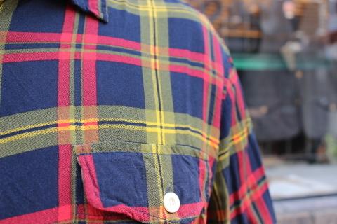 "「dip」\""珍しい素材にチェック柄のシャツアイテム\"" ご紹介_f0191324_08540867.jpg"