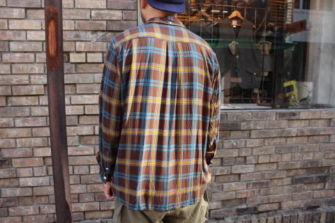 "「dip」\""珍しい素材にチェック柄のシャツアイテム\"" ご紹介_f0191324_08545055.jpg"