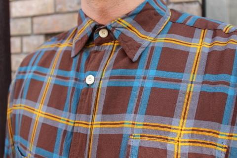 "「dip」\""珍しい素材にチェック柄のシャツアイテム\"" ご紹介_f0191324_08545603.jpg"