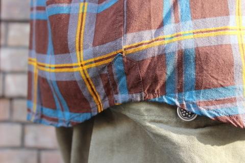 "「dip」\""珍しい素材にチェック柄のシャツアイテム\"" ご紹介_f0191324_08551897.jpg"