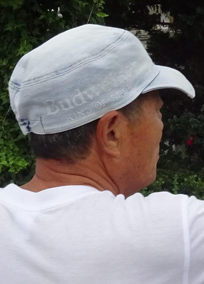 高校の頃にかぶっていた帽子を、今は父親が!_d0061678_15522624.jpg