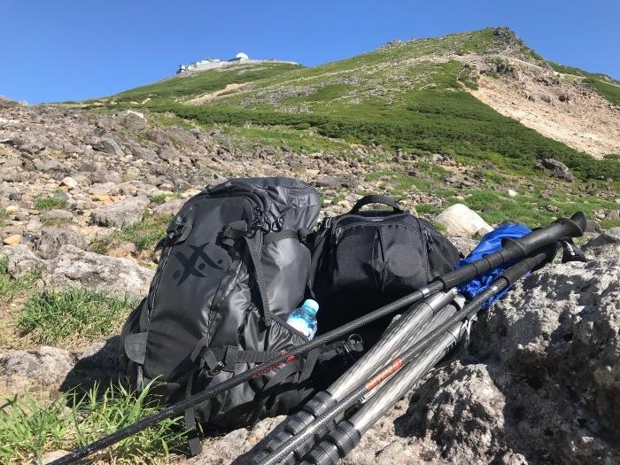 山ザックとカメラ機材_f0361287_22580260.jpg