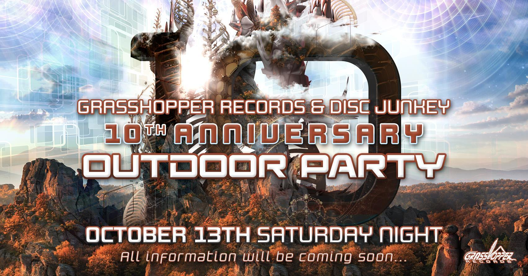 10/13-14 Grasshopper Records & Disc Junkey 10th Anniversary Outdoor party@おおばキャンプ村_c0311698_22224985.jpg