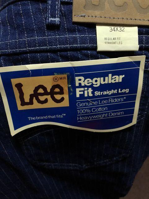 アメリカ仕入れ情報#25   デッドストック 70s80s Lee #200など_c0144020_09311620.jpg