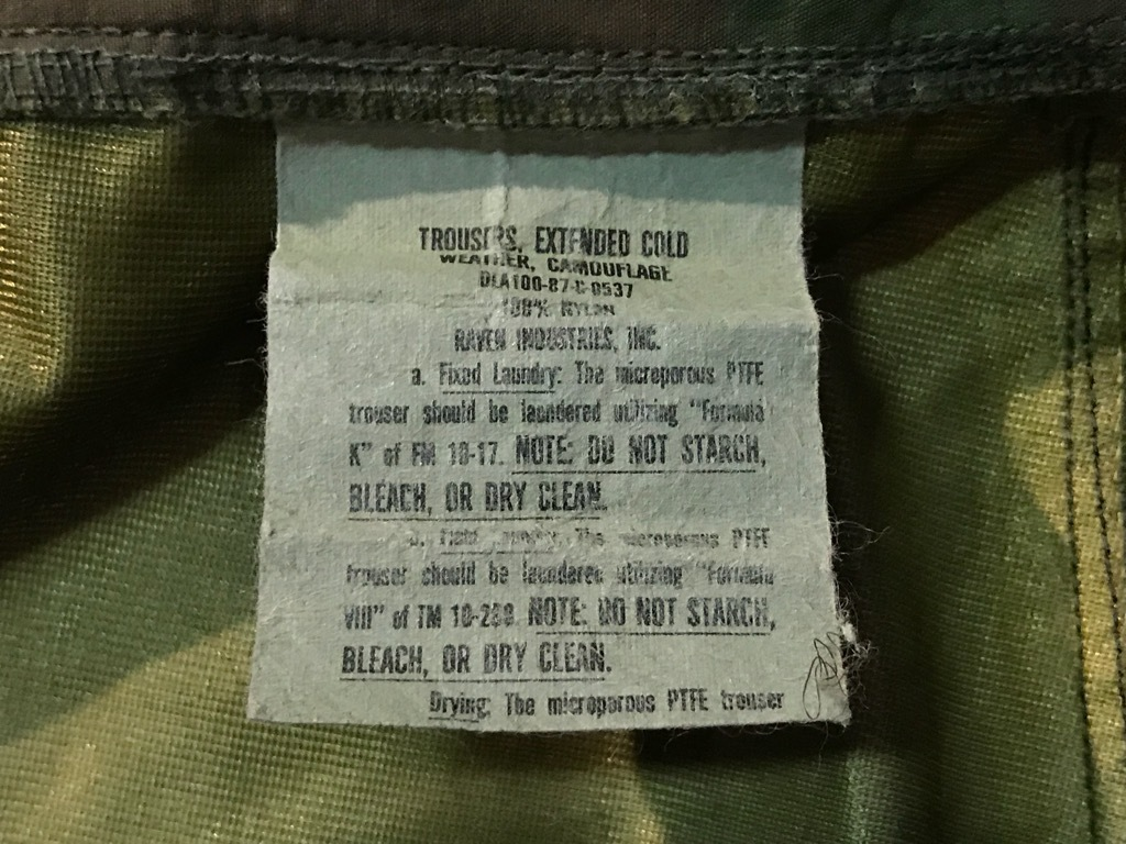 神戸店9/15(土)Modern Military入荷! #3 Gore-Tex Item!!!_c0078587_18073979.jpg