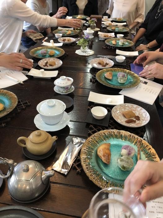中国茶会をさせていただきました@秋田 しょくでんぷの里_a0169924_08315599.jpeg