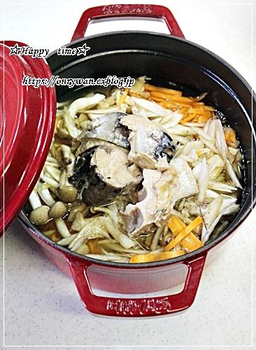 つくねの照焼き弁当と今夜はサバカ~ンの炊き込みご飯♪_f0348032_18010977.jpg