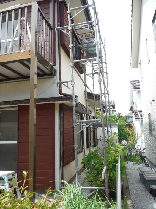 空き屋リフォーム ~玄関、戸袋など塗り替えして終了になりました。_d0165368_07390846.jpg