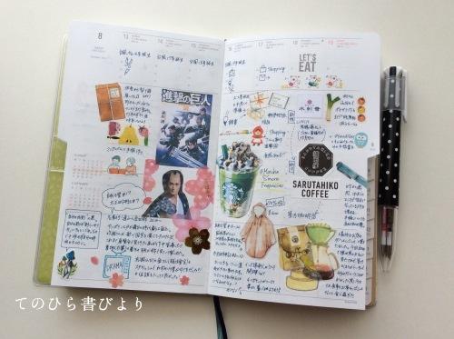 サブ手帳(ハイタイドnahe)8月ウィークリーページ_d0285885_16032463.jpeg